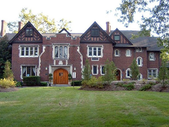 Harstick-Whittemore Houses (University House and Faculty Conference Center), ca. 1912, 6420 and 6440 Forsyth Boulevard, Clayton, MO, National Register