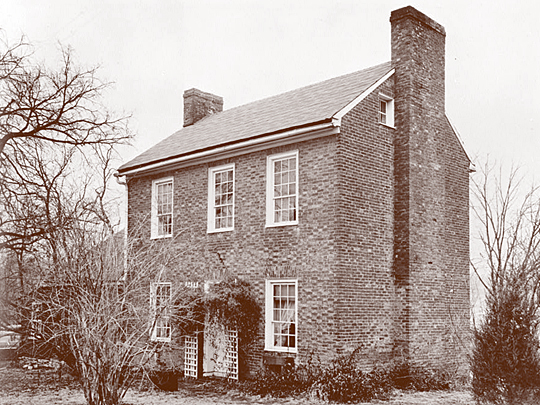 Thomas Sappington House, ca. 1808, West Side of Sappington Road, Crestwood