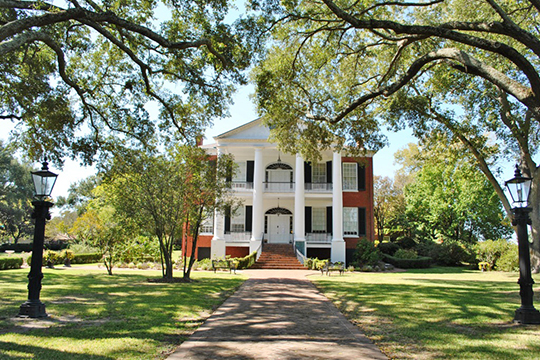 Rosalie, ca. 1823, 100 Orleans Street, Natches, MS., National Register