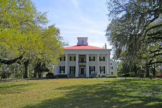 D'Evereaux, ca. 1840, 170 D'Evereaux Drive, Natchez, MS, National Register