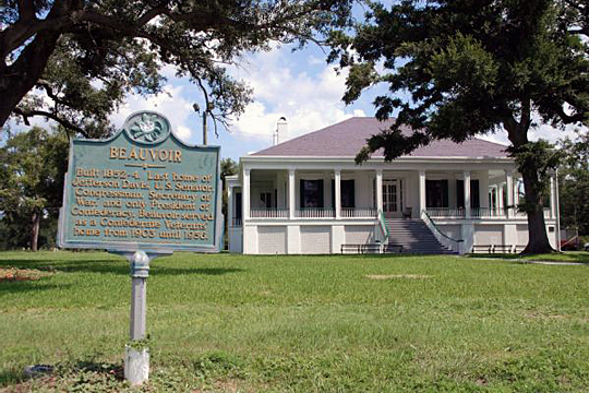 Beauvoir Restoration, home of Jefferson Davis, President of the Confederacy, Biloxi MS