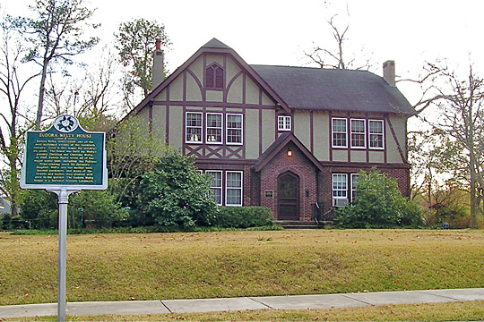 Eudora Welty House, ca. 1924, 1119 Pinehurst St, Jackson, MS