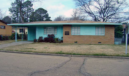 Medgar Evers House, ca. 1956, 2332 Margaret Walker Alexander Drive (formerly Guynes Street), Jackson, MS, National Register