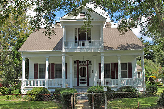 George Frentz House, ca. 1879, 503 Morgan Street, Pascagoula, MS, National Register