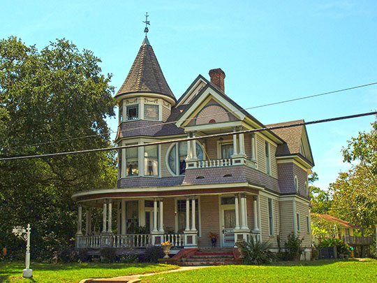 Lemuel D. Herrick House, ca. 1899, 2503 Pascagoula Street, Pascagoula, MS, National Register