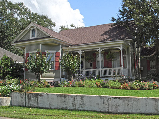 Captain Willie Bodden House, ca. 1910, 4002 Pine Street, Pascagoula, MS, National Register