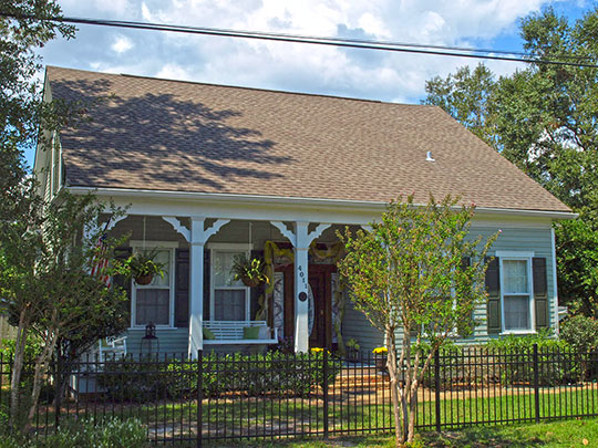 Home on Pine Street, Krebsville Historic District, Pascagoula, MS, National Register