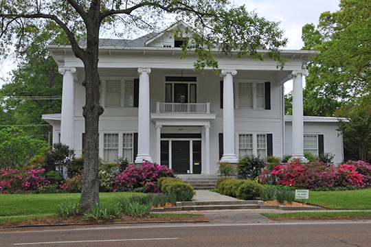 Provine House, ca. 1910, 319 Grand Boulevard, Greenwood, MS, National Register