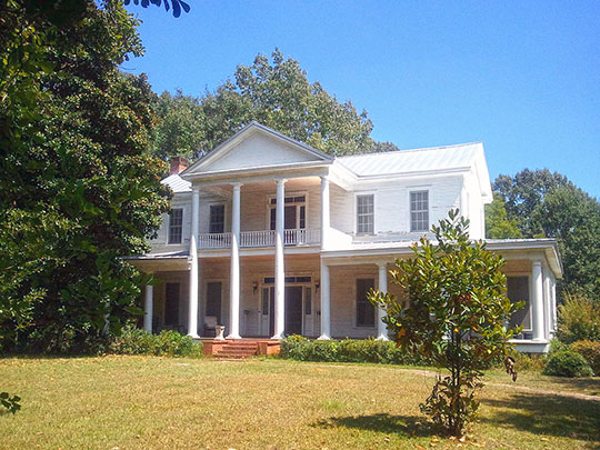 Cocke-Martin-Jackson House, ca. 1845, 107 Pleasant Street, Brandon, MS, National Register