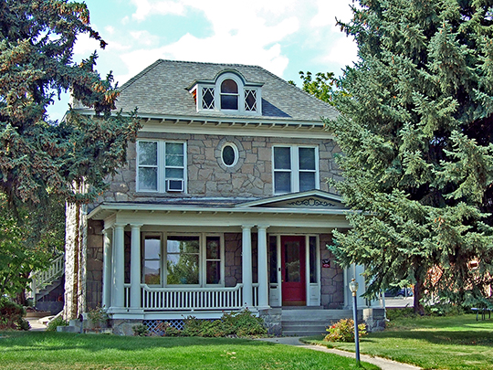 Olsen House, ca. 1874-1884, 516 North Park Avenue, Helena, MT, National Register
