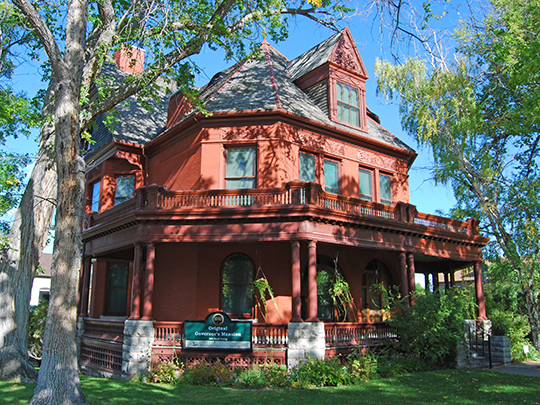 Montana Governors' Mansion (former), ca. 1888, 6th Avenue and Ewing Street, Helena, MT, Mational Register