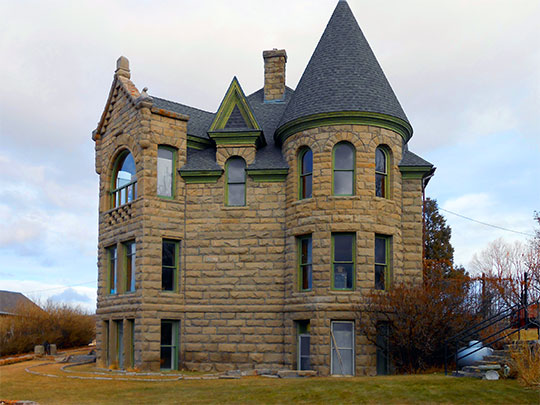 Sheets House, ca. 1887, 1350 West Peckingham Road, Newkirk, OK, National Register