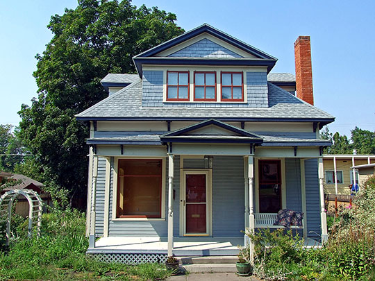 Edgar Paxson House, ca. 1890, 611 Stephens Avenue, Missoula, MT, National Register