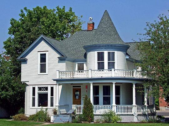 John S. Johnston House, ca. 1900, 412 West Adler Street, Missoula, MT, National Register