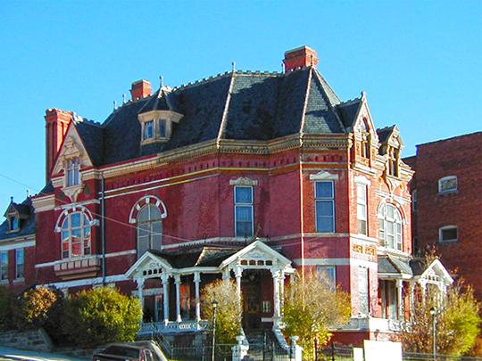 W. A. Clark Mansion (Copper King Mansion), ca. 1884, 219 West Granite Street, Butte, MT, National Register