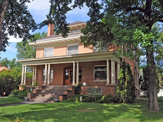 Peter Yegen House, ca. 1911, 209 South 35th Street, Billings, MT, National Register