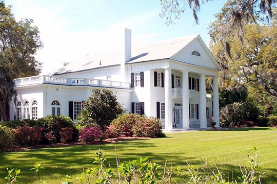 Orton Plantation, ca. 1735, junction of Routes 1530 & 1529, Smithville Township, NC, National Register
