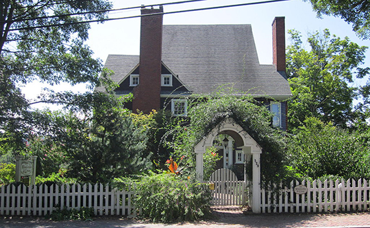 Home in the Chestnut Hill Historic District, Asheville, NC, National Register