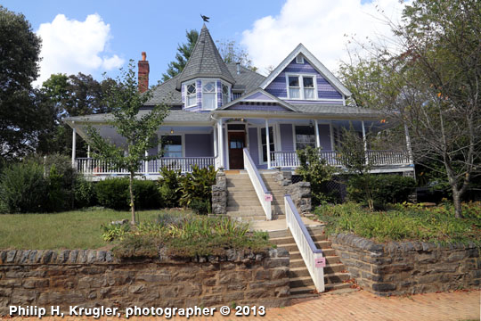 Home in the Montford Area Historic District, Asheville, NC, National Register