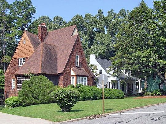 Chestnut Street, Lexington Residential Historic District