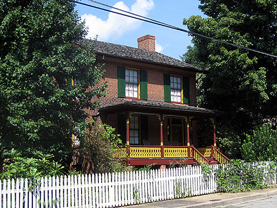 Sussdorf House, ca. 1838, South Trade Street, Winston-Salem, NC, National Register