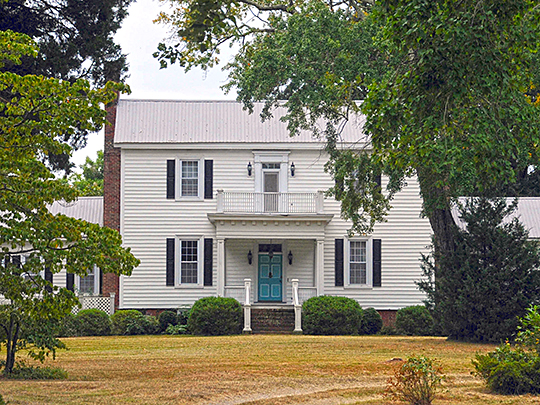 Thorndale, ca. 1837, 213 West Thorndale Drive, Oxford, NC, National Register