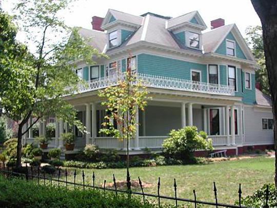 Ferd Ecker House, ca. 1908, 901 Johnson Street, High Point, NC, Johnson Street Local Historic District