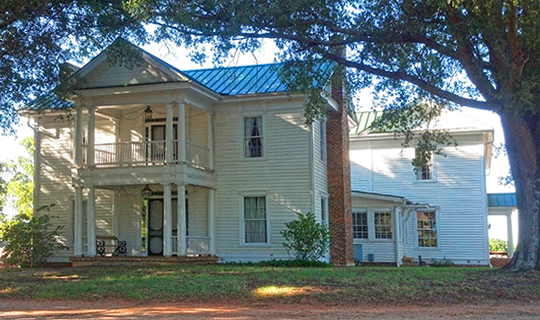 Hargrave House, ca. 1860, intersection of Routes 150 and 152, Statesville, NC, National Register