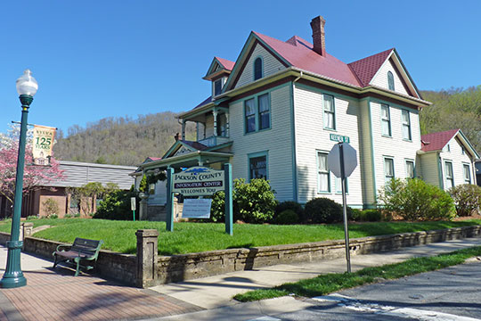 D. D. Hooper House, ca. 1906, 773 West Main Street, Sylva, NC, National Register