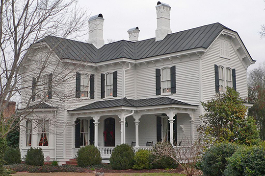 Hood-Strickland House, ca. 1888, 415 South 4th Street, Smithfield, NC, National Register