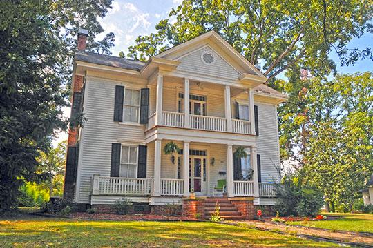 John D. McIver House and Farm, ca. 1855, 2007 Windmill Drive, Sanford, NC