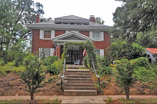 Frederick P. Strong House, ca. 1917, 301 N. Gulf Street, Rosemount-McIver Park Historic District, Sanford, NC, National Register