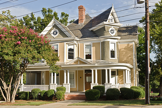 John Price Carr House, ca. 1904, 200-206 North McDowell Street, Charlotte, NC, National Register