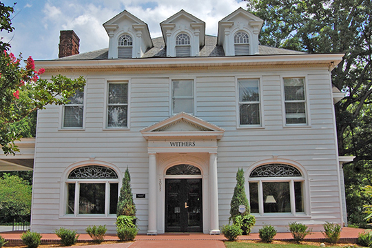 Withers House, ca. 1904, 2025 Selwyn Ave, Myers Park Historic District, Charlotte, NC, National Register