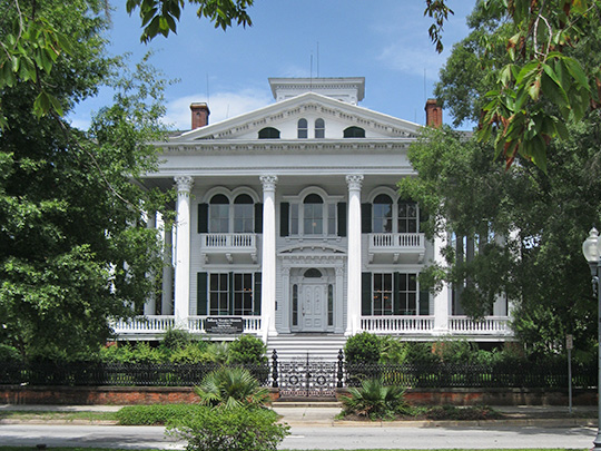 Bellamy Mansion, ca. 1860, 503 Market Street, Wilmington, NC, National Register