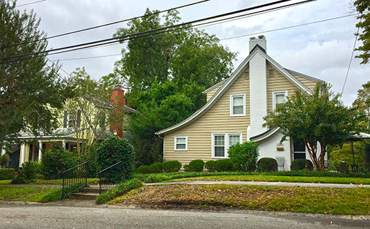 Homes in the Brookwood Historic District, Wilmington, NC, National Register