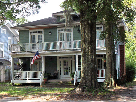 Home, Sunset Park Historic District, Wilmington, NC, National Register