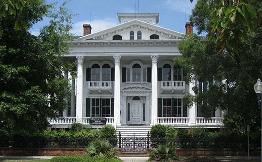Bellamy Mansion, ca. 1859, 503 Market Street, Wilmington Historic District, Wilmington, NC, National Register
