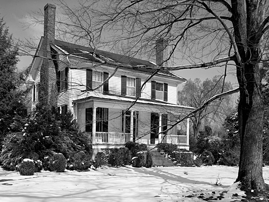 Nash-Hooper House, located at 118 West Tryon Street in Hillsborough