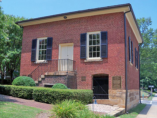 Maxwell Chambers House, ca. 1820, 116 South Jackson Street, Salisbury, NC, National Register