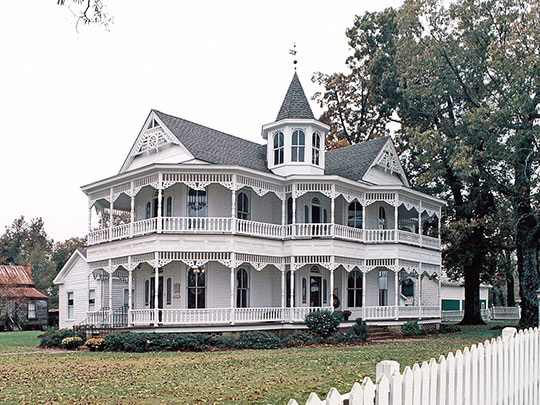 John Blue House, ca. 1895, State Route 1108, Laurinburg, NC, National Reigster