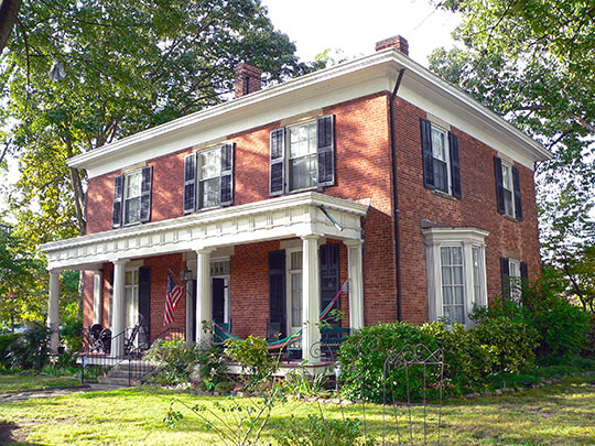 Richard B. Haywood House, ca. 1854, 634 North Blount Street, Raleigh, NC, National Register