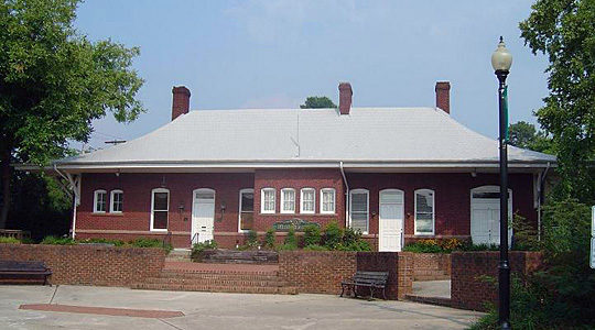 Apex Union Depot, national register of historic places