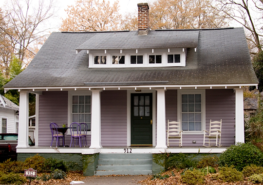 Home in the Boylan Heights Historic District, Raleigh, NC, National Register
