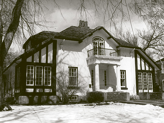 Clyde L. Young House, Avenue B West, Bismarck North Dakota