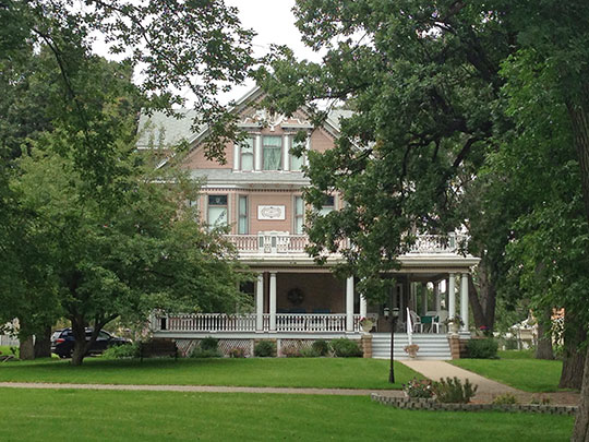 Andrew S. Carr, Sr. House, ca. 1903, 510 4th Avenue NW, Minot, ND, National Register