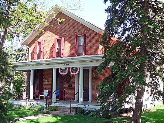 Samuel Bullock House, ca. 1869, 508 West Military Avenue, Fremont, NE, National Register