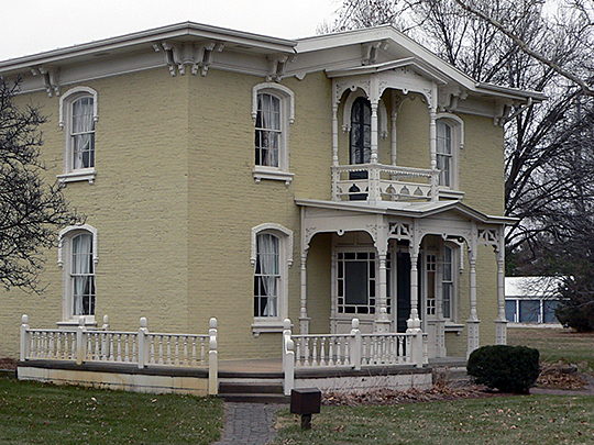 George and Nancy Turner house, ca. 1868, 78 S. C Street , Fremont, NE, National Register