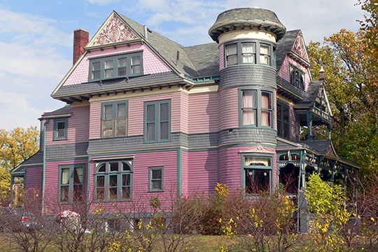 Edgar Zabriskie House, ca. 1889, 3524 Hawthorne Avenue, Omaha, NE, National Register