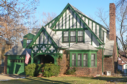 House at 2021 N. 53rd Street, ca. 1930, Country Club Historic District, Omaha, NE, National Register